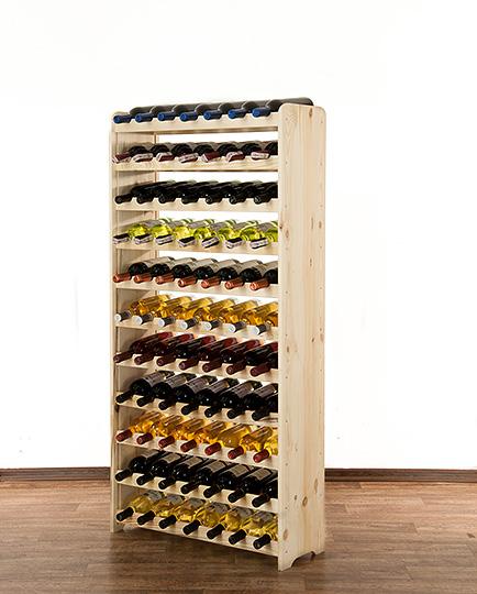 полка под вино 77