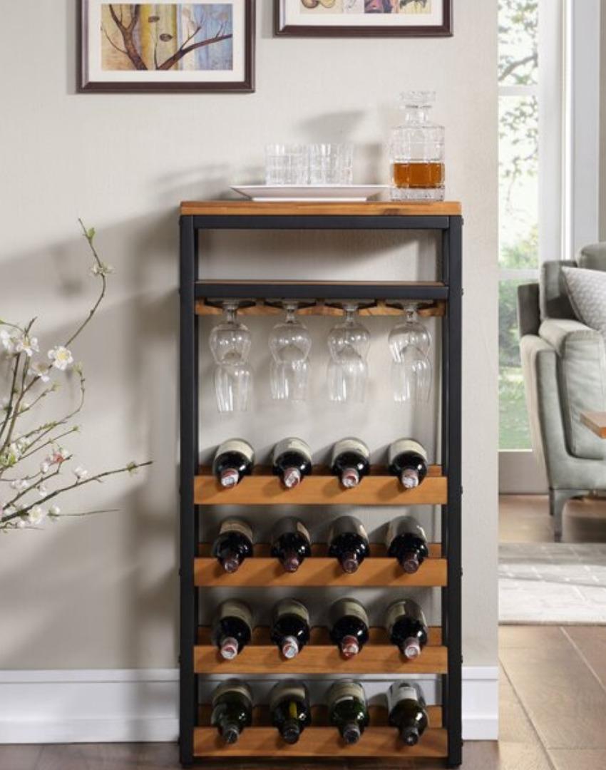 Стеллаж для вина Manhattan Loft Style