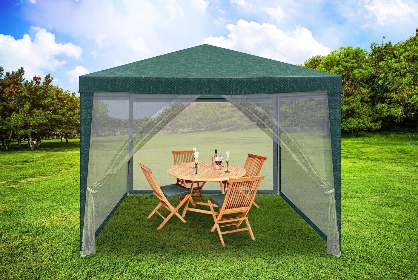 Палатка садовая 3х3 м с москитной сеткой купить в Украине